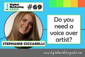 Do you need a voice over artist? - STEPHANIE CICCARELLI