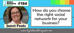 How do you choose the right social network for your business? - JANET FOUTS
