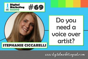 Do you need a voice over artist? - STEPHANIE CICCARELLI