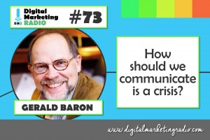 Crisis communication examples - GERALD BARON