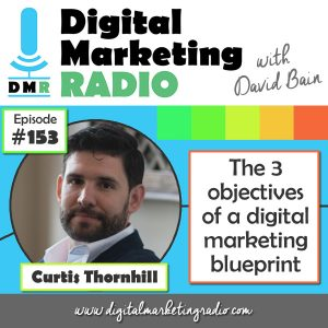 The 3 Objectives of building a digital marketing blueprint - CURTIS THORNHILL | DMR #153