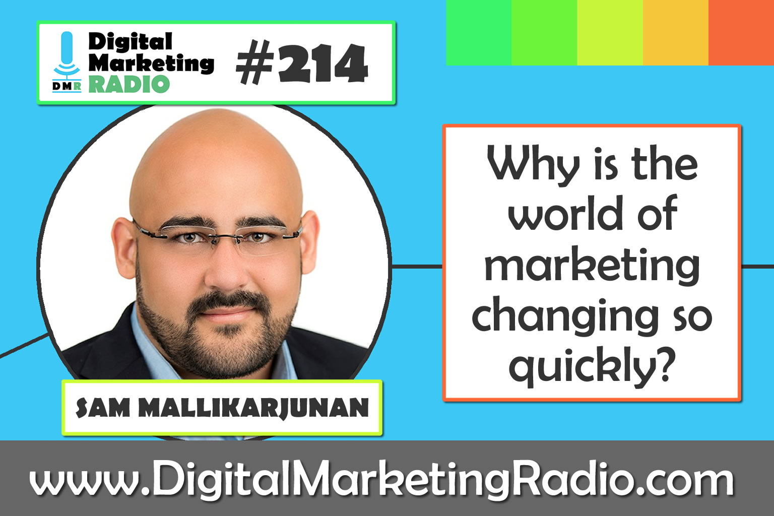 Why is the world of marketing changing so quickly? – SAM MALLIKARJUNAN